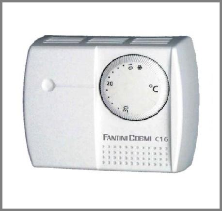termostato ambiente a rotella fantini cosmi mod c16 per